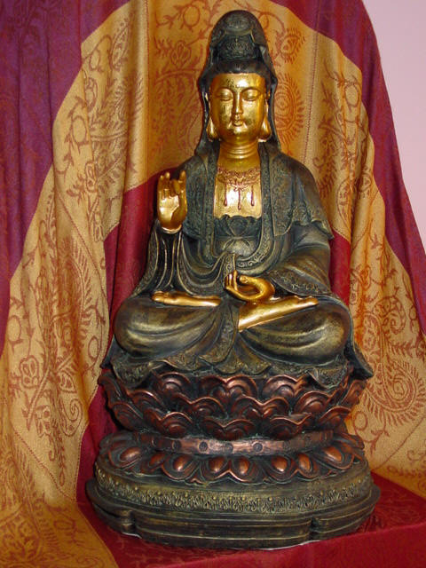 Kuan Yin - Chinese goddess of infinite mercy and compassion.